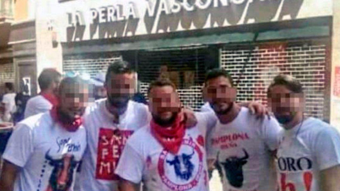"""Declaró la víctima de """"La Manada"""", un grupo acusado de una violación masiva en San Fermín"""