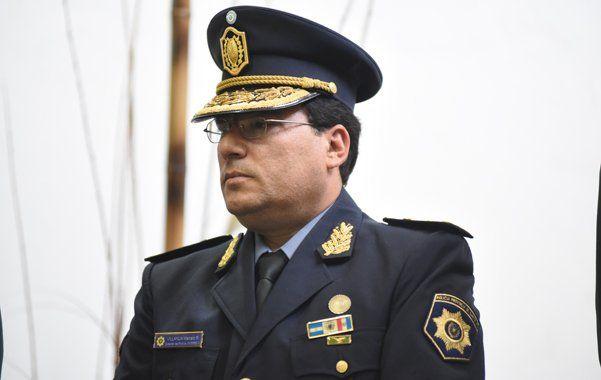 Marcelo Villanúa asumió la conducción de la jefatura de la policía provincial en febrero de 2018 y fue desplazado con la llegada del nuevo gobierno.