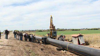 Resolvieron suspender a 160 obreros del acueducto Desvío Arijón y frenar la obra