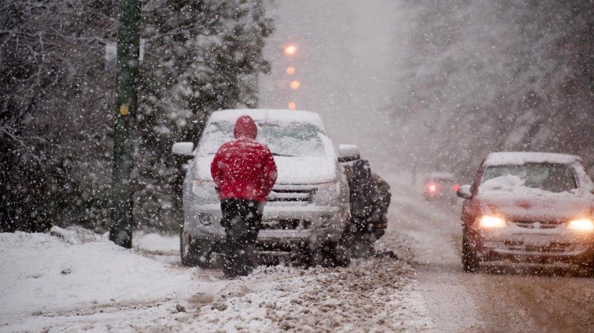 Tormentas, nevadas y vientos intensos: las tres alertas que emitió el Servicio Meteorológico