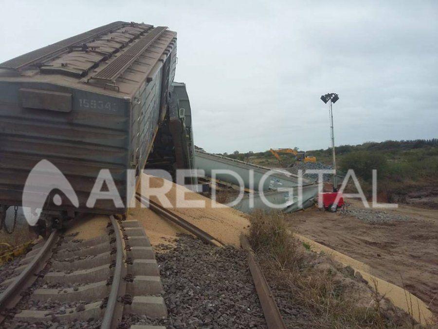 Descarriló un tren entre Coronda y Arocena
