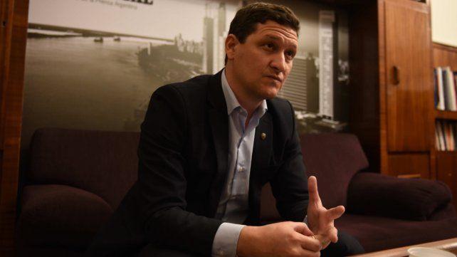 Maximiliano Neri, presidente de la Empresa Provincial de la Energía