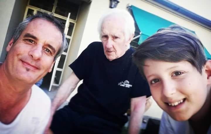 Alzheimer: la historia de Chino y un acordeón que lo hace recordar