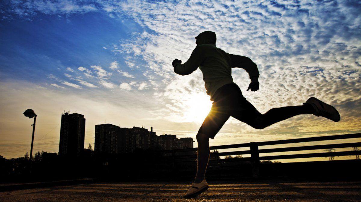 El running es una de las actividades permitidas en la provincia.