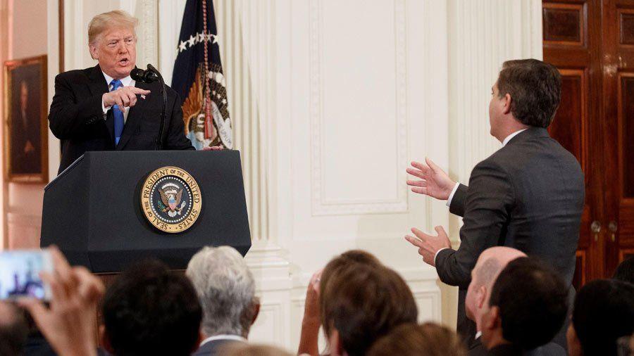 Donald Trump echó de la Casa Blanca a un periodista de la CNN