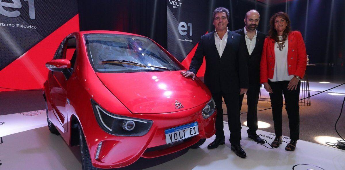 Se presentaron los primeros autos eléctricos fabricados en Argentina