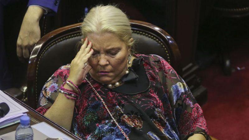 Carrió criticó los cambios en el uso de las armas de las fuerzas federales
