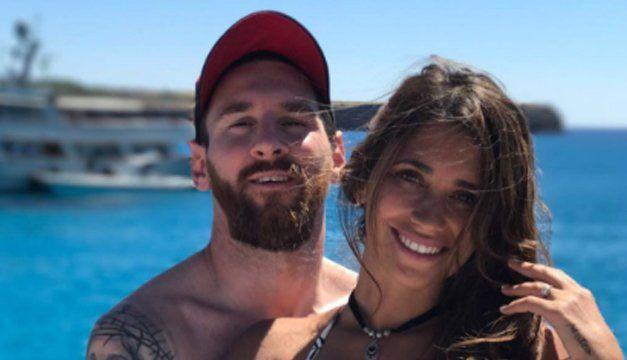 La foto hot de Messi que Antonela publicó en sus redes sociales