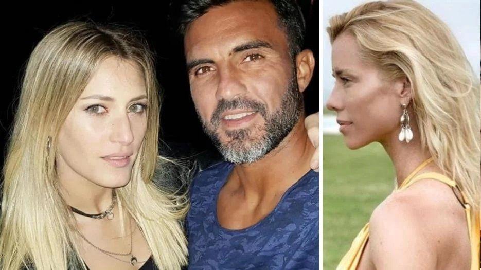Fabián Cubero publicó fotos de sus hijas junto a Mica Viciconte