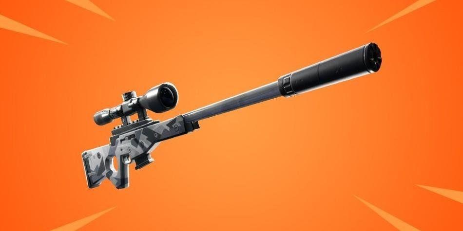 El rifle de francotirador Fortnite silenciado es lo próximo que llegará al Battle Royale