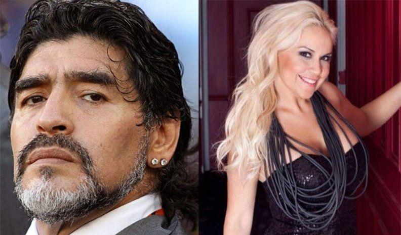 Diego Maradona y Verónica Ojeda, cada vez más cerca: la foto que lo demuestra