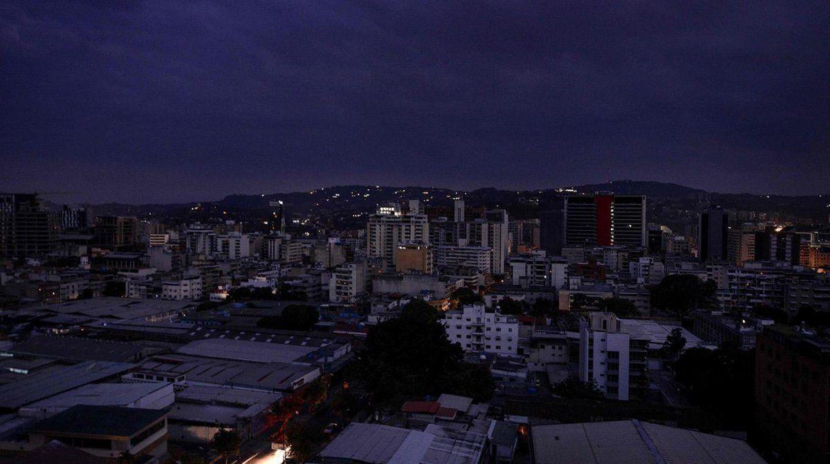 Un nuevo apagón dejó sin luz a varios estados de Venezuela