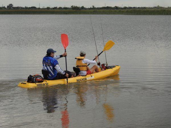 Pesca y verano en Kayak