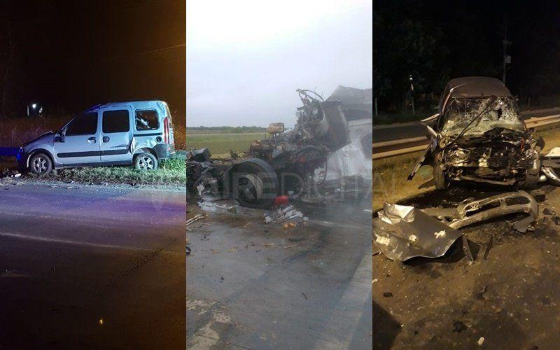 Rutas trágicas en Santa Fe: tres graves accidentes en menos de siete horas