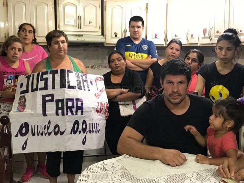 Sólo una de las imputadas por el homicidio de Gisela Aguirre quedó detenida