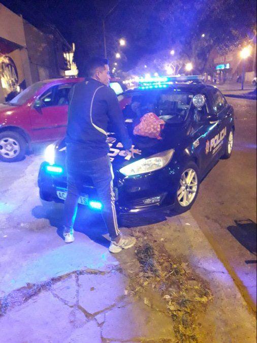 Intentó robarle a un taxista, escapó y lo detuvieron armado
