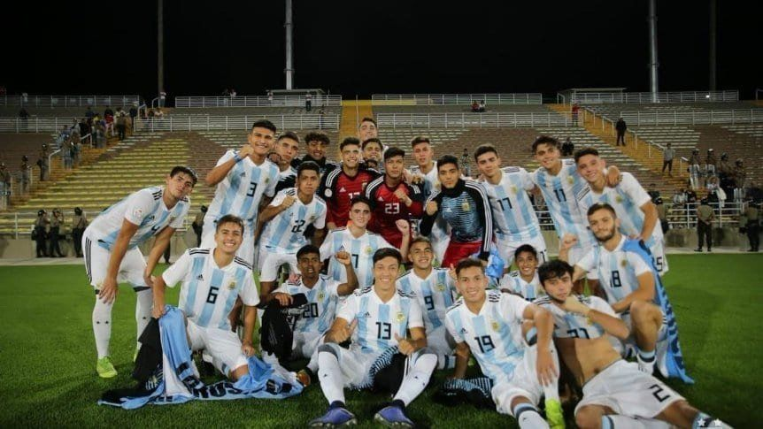 Argentina se consagró campeón de Sudamericano Sub 17