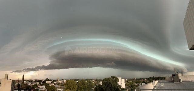 Santa Fe y la Región, bajo alerta meteorológico por tormentas fuertes