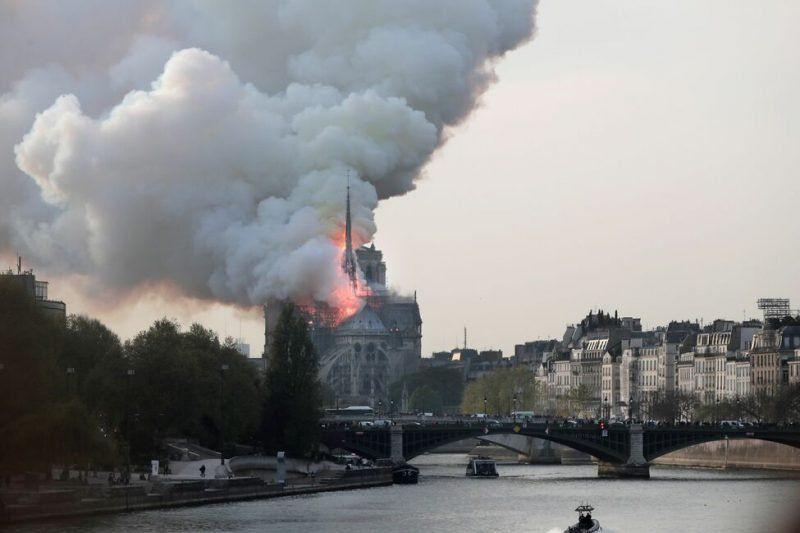 Los mensajes del deporte por el incendio en Notre Dame