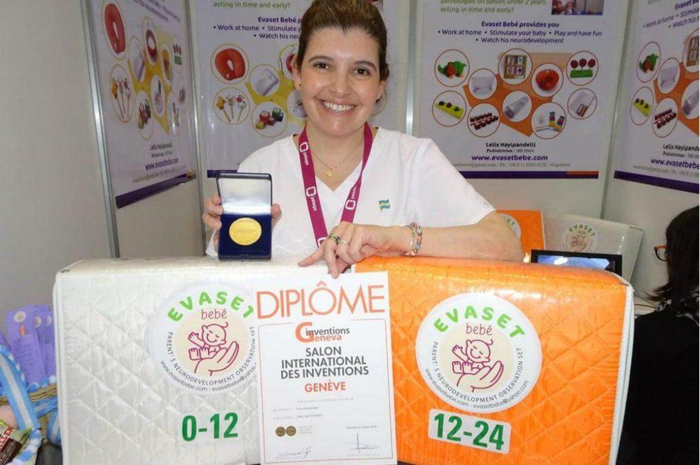 La pediatra argentina que ganó una medalla de oro en Suiza por su novedoso invento