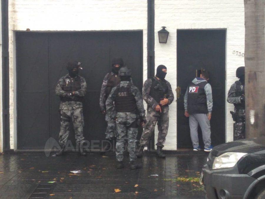 Una estafa millonaria a ATE y ATEM: allanamientos en el centro y cuatro detenidos