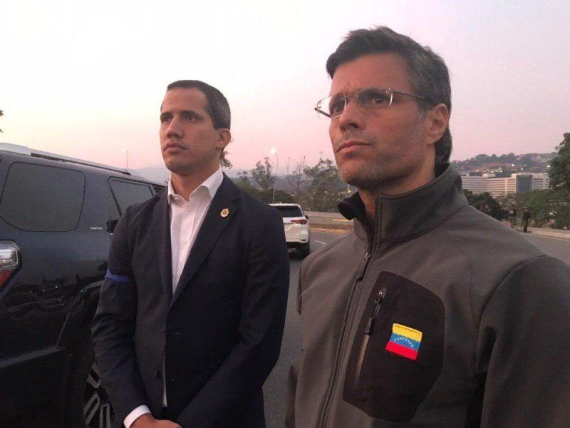Leopoldo López se refugió en la embajada chilena de Caracas