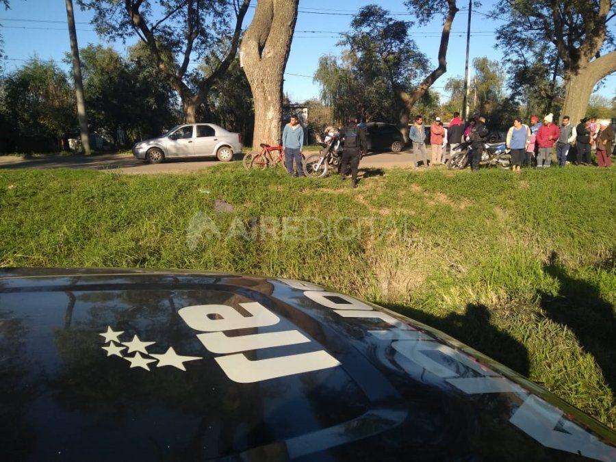 Hallaron el cuerpo de un hombre en un zanjón, cerca de la parada de Ersa