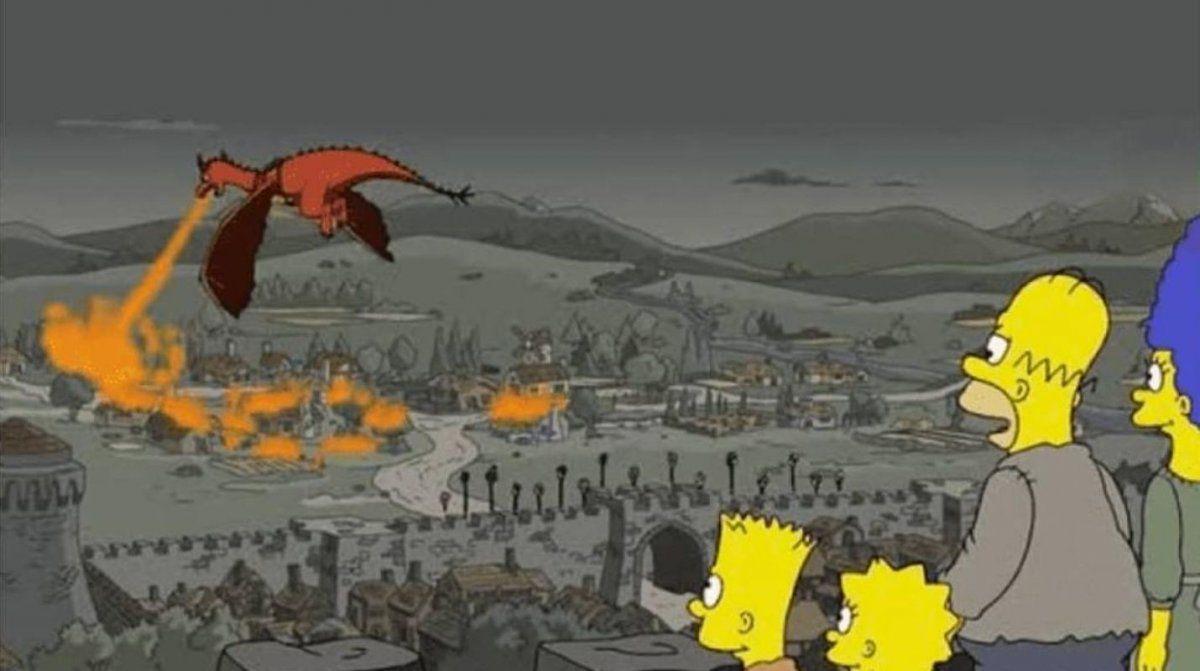 Los Simpson predijeron el penúltimo capítulo de Game Of Thrones