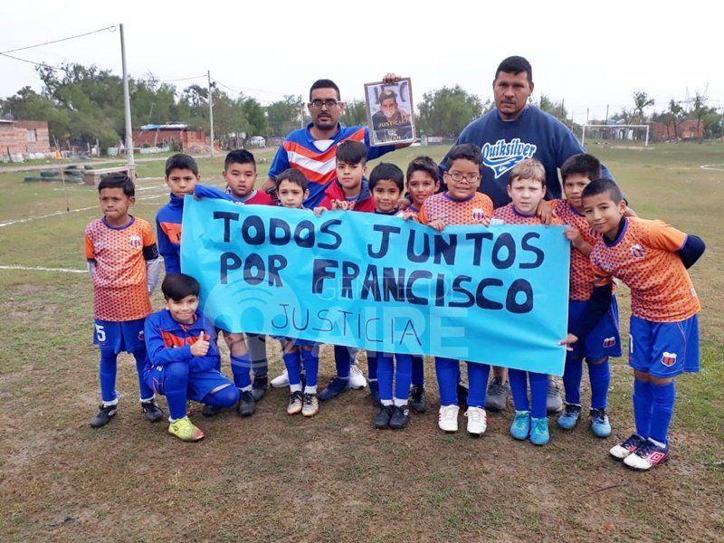 """Las canchas santafesinas se unieron bajo un grito único y conmovedor: """"Justicia por Francisco"""""""