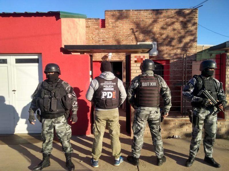 Recreo y Santa Fe: un detenido en allanamientos por droga