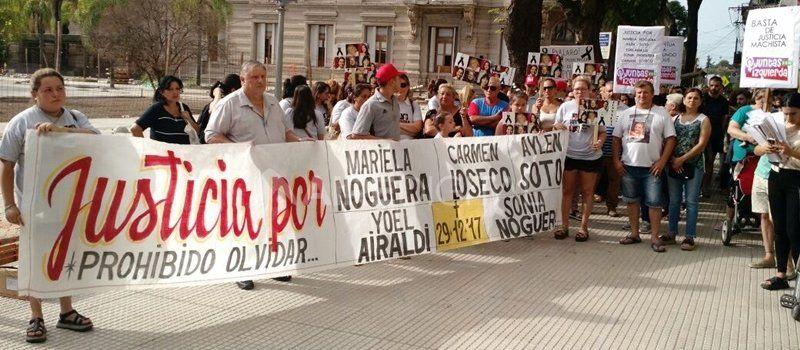 Quíntuple femicidio: Solís será condenado a perpetua y la familia de las víctimas pide acompañamiento