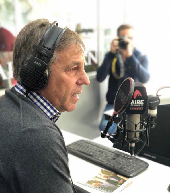 """Emilio Jatón: """"El puente Santa Fe-Santo Tomé tiene que ser una prioridad de todos"""""""