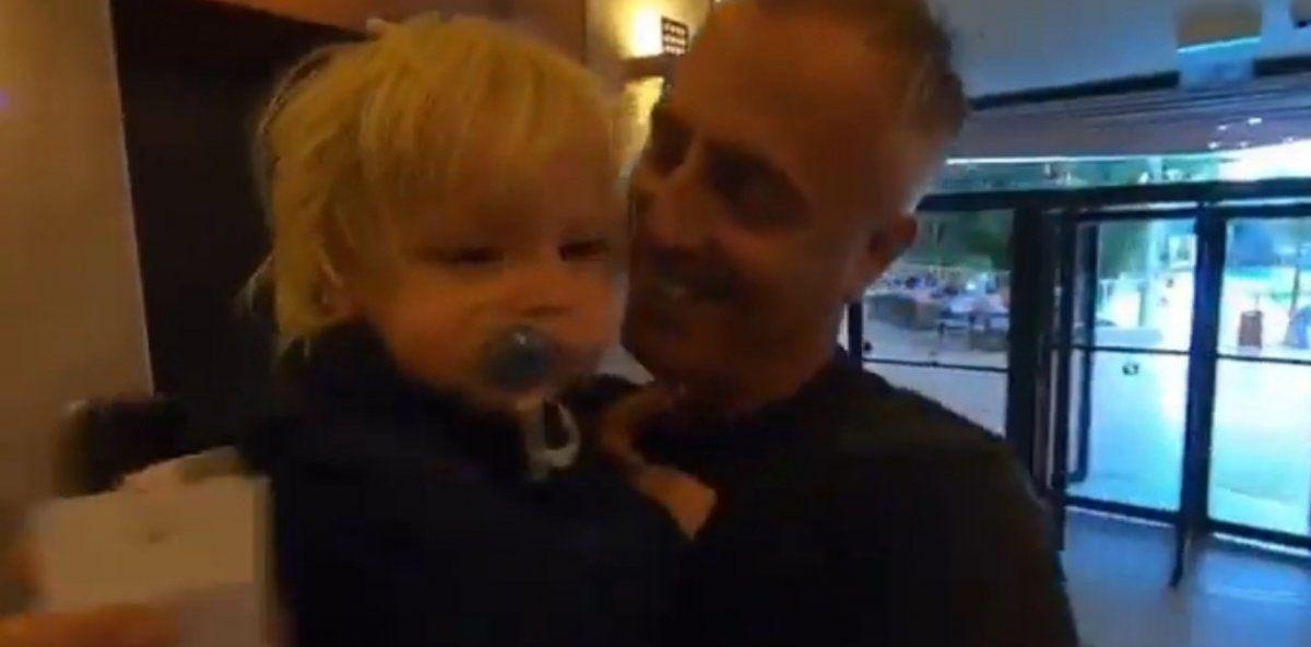 El emotivo video del reencuentro de Marley con Mirko