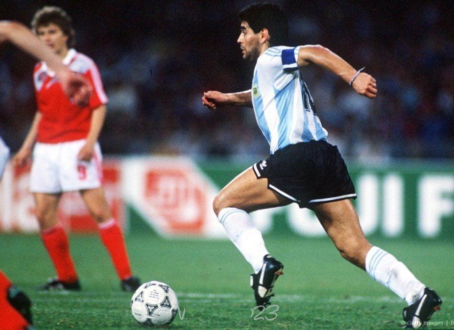"""La impactante historia de la """"segunda mano de Dios"""" de Maradona"""