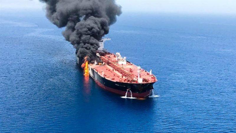 Irán rechazó la acusación de Estados Unidos por los ataques a cargueros cerca del Golfo Pérsico