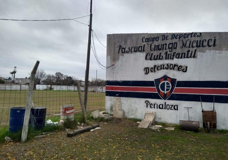 Inseguridad: el Club Defensores de Peñaloza sufrió el sexto robo del año
