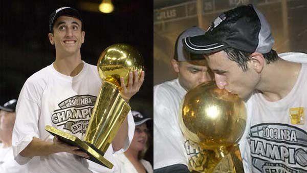 A 16 años del primer título de Ginóbili en la NBA