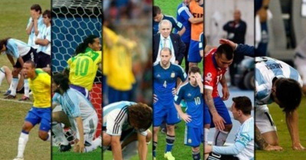 La maldición que la selección argentina intenta romper en Brasil