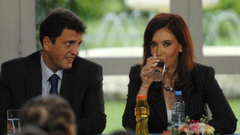 Cristina Kirchner y Sergio Massa tuvieron su primer acercamiento de campaña en las redes