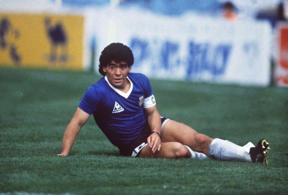 El mejor partido de su carrera, según Diego Maradona