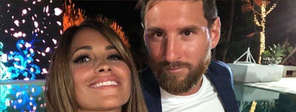 El afectuoso mensaje de Anto Roccuzzo a Messi por el Día del Padre