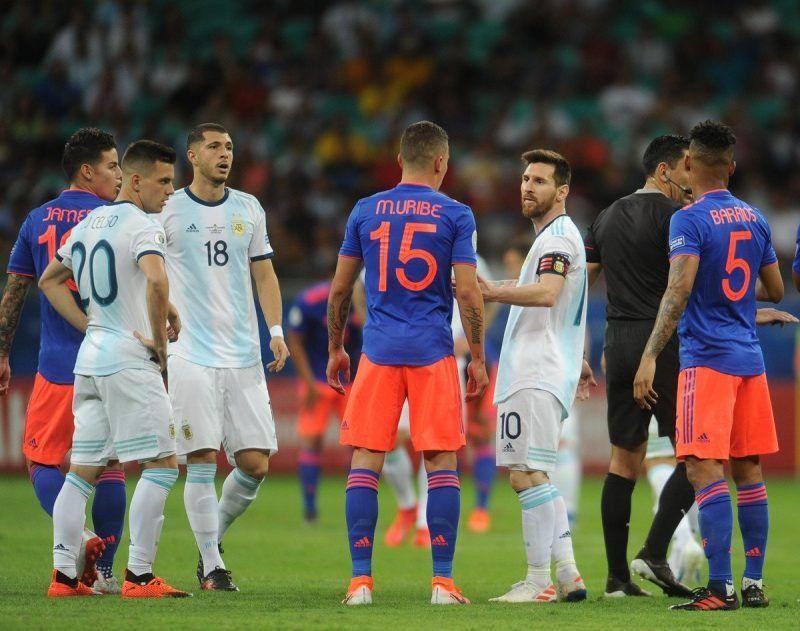 Un árbitro brasileño dirigirá Argentina-Paraguay por la Copa América