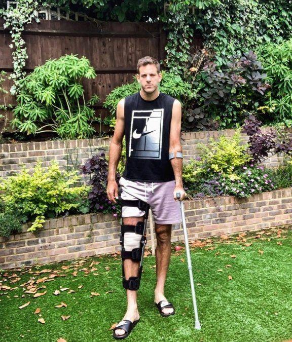 Del Potro sufrió una fractura y se pierde en resto del año