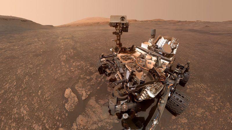 ¿Hubo vida reciente en Marte? Descubrieron en el planeta un gas producido por la descomposición de un material orgánico