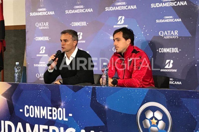 """Lavallén confía en que Colón """"sacará adelante la serie"""" por la Copa Sudamericana"""