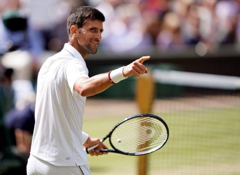 Djokovic derrotó a Bautista Agut y ya espera en la final de Wimbledon a Federer o Nadal