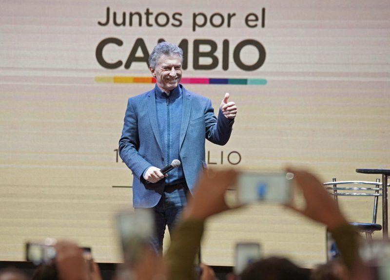 Macri presentó la fórmula en Córdoba y pidió repetir el triunfo de 2015