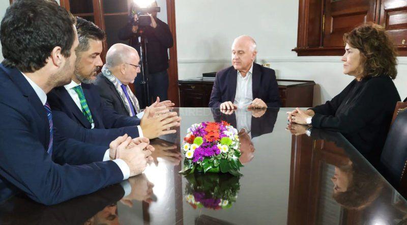 El canciller Faurie remarcó la importancia del encuentro entre los presidentes