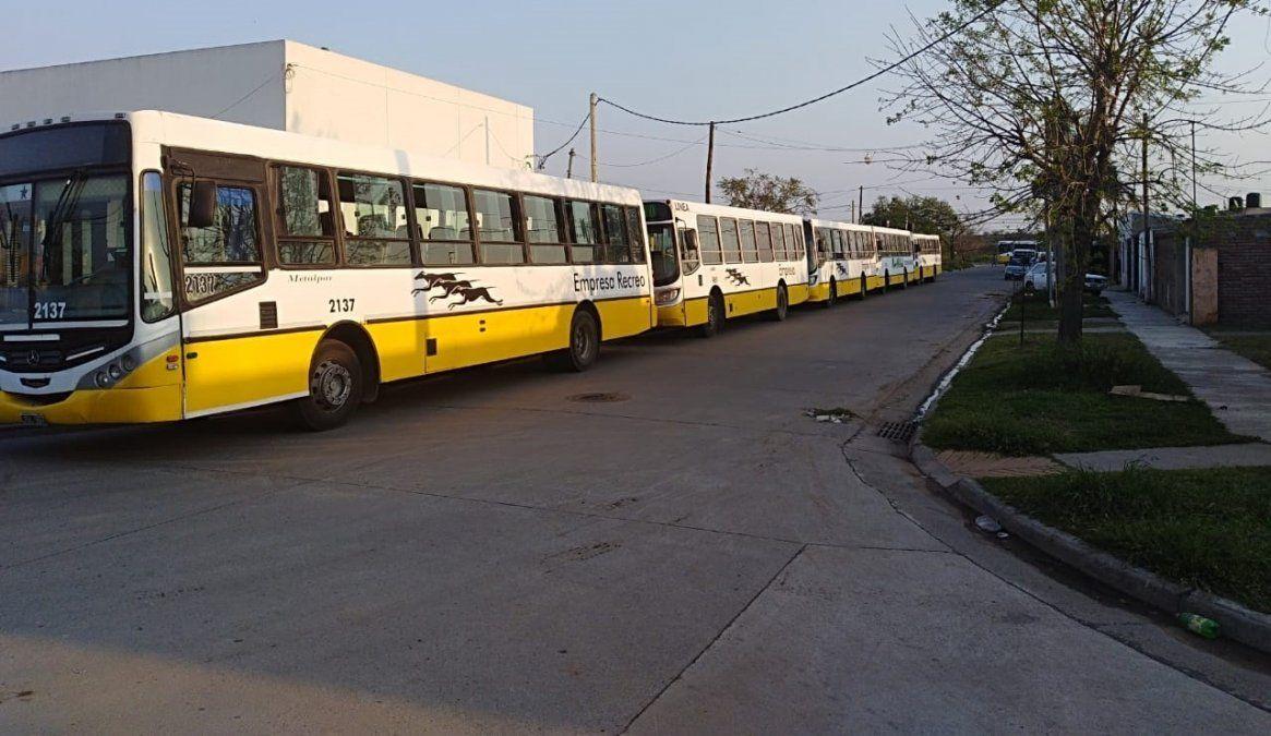 La UTA levantó el paro de transporte y circulan los colectivos en Santa Fe