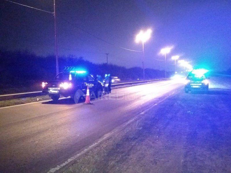 Un motociclista murió en un trágico accidente en Circunvalación Oeste